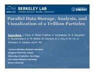 Presentation (~11MB) - SDM - Lawrence Berkeley National Laboratory