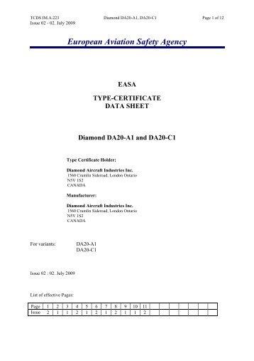 european type certificate