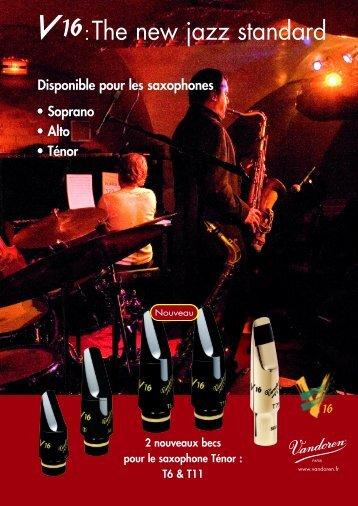 :The new jazz standard - vandoren