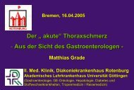 Gastroenterologie/Hepatologie