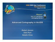 Advanced Cartography in ArcGIS