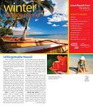 vacation planner - Carlson Wagonlit Travel
