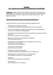 Protokoll der 4. Sitzung des Jugendforums Bergkirchen am 05.02 ...