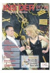 erweitertes Verbreitungsgebiet 2010 - Magazin Insider