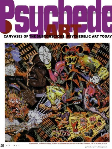 Canvases of the Subconscious: Psychedelic Art Today - the little HR ...