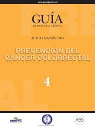 prevención del cáncer colorrectal - GuíaSalud