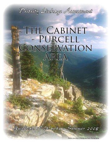 Cabinet Purcells - Montanans 4 Safe Wildlife Passage