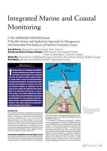 Integrated Marine and Coastal Monitoring - P2 InfoHouse
