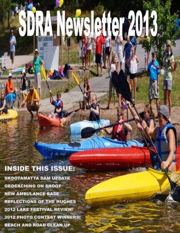 INSIDE THIS ISSUE: - Skootamatta District Ratepayers Association