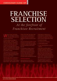 At the forefront of Franchisee Recruitment - Business Franchise ...