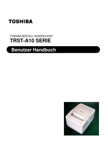 TRST-A10 SERIE - Toshiba Tec