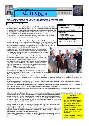 consejo de la familia marianista de españa - Publicaciones ...