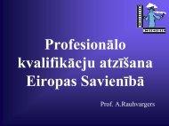 Profesionālo kvalifikāciju atzīšana Eiropas Savienībā