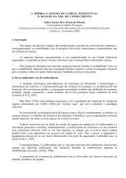 A MEDIDA E GESTÃO DO CAPITAL INTELECTUAL: O DESAFIO DA ...