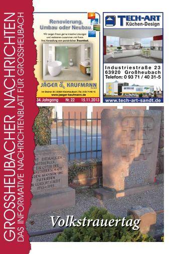 Großheubacher Nachrichten Ausgabe 22-2013 - STOPTEG Print ...
