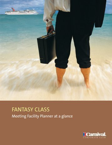 CCPP09992 Fantasy Planner - Carnival Cruise Lines