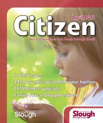 April 2013 - Slough Borough Council