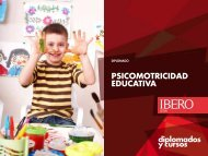 PSICOMOTRICIDAD EDUCATIVA - Universidad Iberoamericana León
