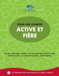Télécharger le guide pratique Pour une jeunesse active et fière - acelf