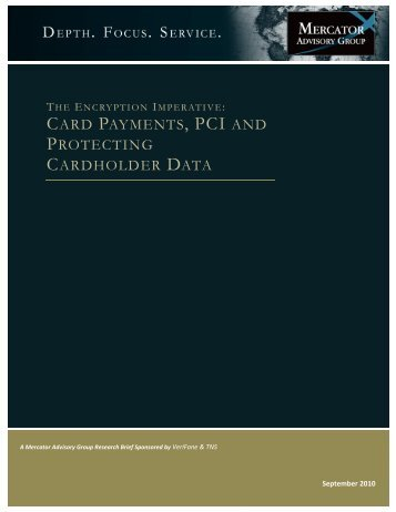 card payments, pci and protecting cardholder data - TNS