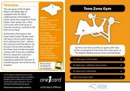 Tone Zone Gym - Isle of Wight Council