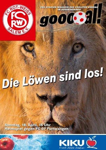 FC ROT-WEISS SALEM E.V. - beim FC Rot-Weiß Salem!