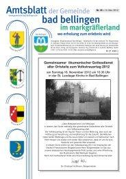 Gemeinsamer ökumenischer Gottesdienst aller Ortsteile zum ...