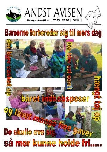 Andst Avisen uge 20 2013