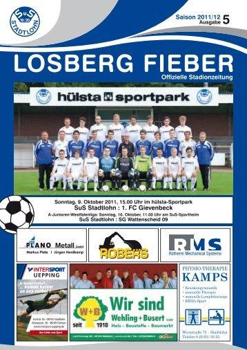 SuS Stadtlohn : 1. FC Gievenbeck - SuS Stadtlohn 19/20 e.V.