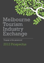 2012 Prospectus - Destination Melbourne