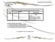 Actualizado al 28 de Enero 2013 RESULTADOS - Municipio de ...