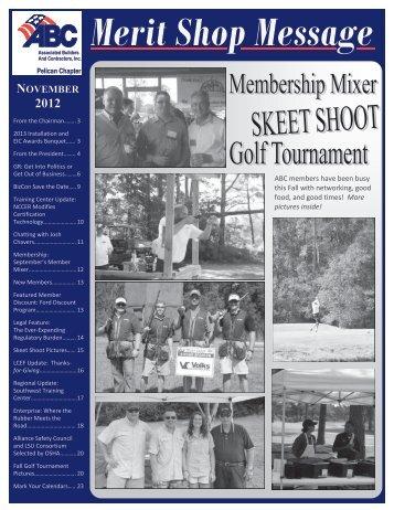 November 2012 Newsletter - ABC