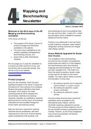 the first issue of the 4E Mapping and Benchmarking newsletter