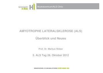 ALS: Neue Gene, neue Hoffnung