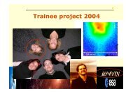Cyclotron line features in magnetized X-ray pulsars - ESAC Trainee ...