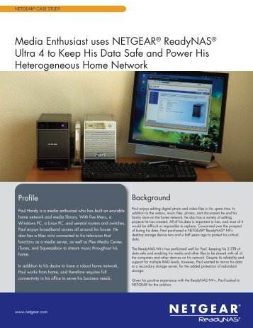 Case_Study_Paul Hardy:Middle Pages.qxd - Netgear