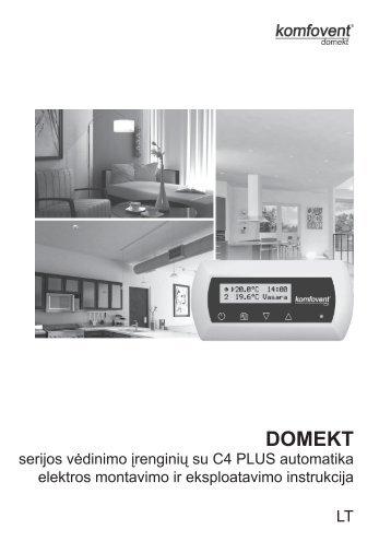 DOMEKT - Komfovent