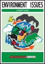 Student's Book – Dec 2009 - The Curriculum Project