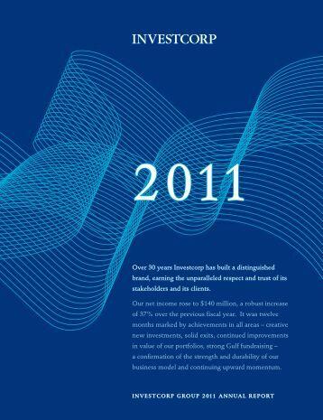 2011 annual report - Investcorp.com
