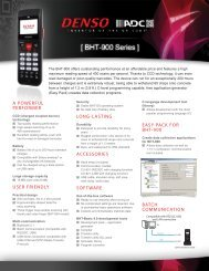 long-lasting accessories software easy pack for bht-900 ... - BlueStar