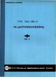 TYPE TZA-353-5