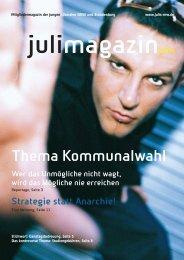 RZ Magazin (Page 1) - Junge Liberale Kreisverband Rhein-Sieg