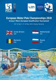 European Water Polo Championships 2010