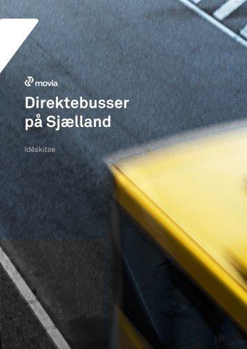 Direktebusser - idéskitse - Movia