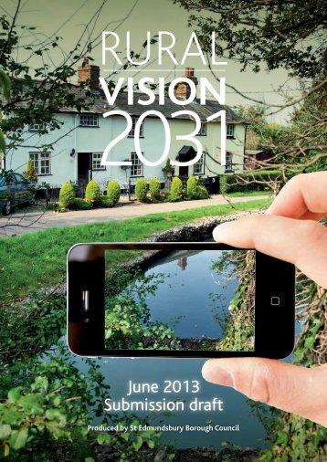 Rural Vision 2031 - St Edmundsbury Borough Council