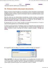 Edición de páginas web avanzadas. Sesión 3. Documento 8