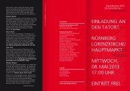 Programm/Einladung - Ver.di