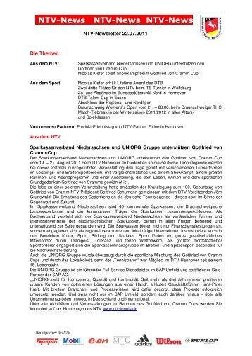NTV-News NTV-News NTV-News - Tennisregion Ems-Vechte