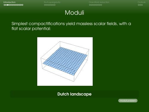 Moduli Stabilisation & Orientifold Reductions =1[DR, arXiv:0902.0479]