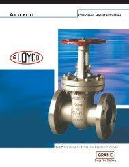 Aloyco Valves - Brochure